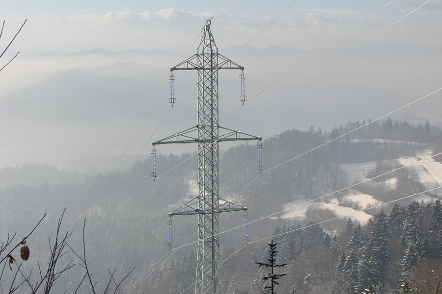 Zgrajen 2 x 110 kV daljnovod
