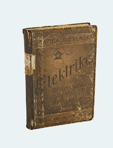 The first Slovenian book on electricity from 1897