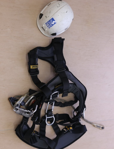 Personal protective equipment for work at height